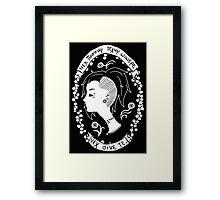 Maskmaker Framed Print