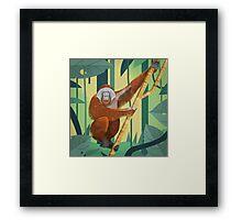 Orangutan Framed Print