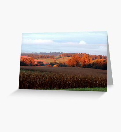 September's Fields Greeting Card
