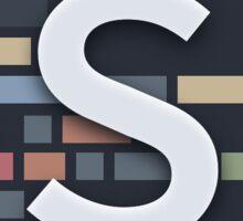 Sublime Text (alternative icon) Sticker