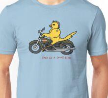 Free as a biker bird - in full color Unisex T-Shirt