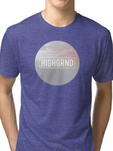 Highgrnd - Logo Tri-blend T-Shirt