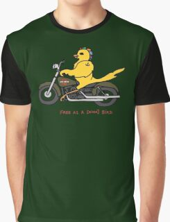 Free as a biker bird - in full color Graphic T-Shirt