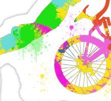 Festive bike Sticker