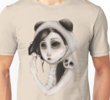 The inability to perceive with eyes notebook I Unisex T-Shirt