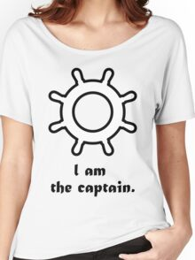 """""""I am the captain."""" Women's Relaxed Fit T-Shirt"""