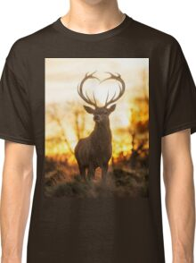 Stag With the Heart Shaped Antlers Classic T-Shirt