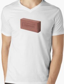 Supreme Brick Mens V-Neck T-Shirt