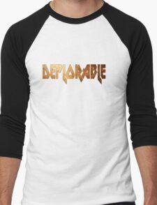 DEPLORABLE Men's Baseball ¾ T-Shirt