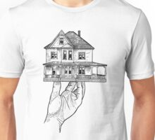 House in a Hand (Drawing) Unisex T-Shirt