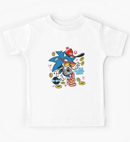 Sonic the Hedgehog - Old School Kids Tee