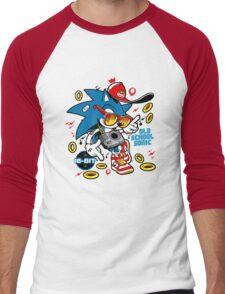Sonic the Hedgehog - Old School Men's Baseball ¾ T-Shirt