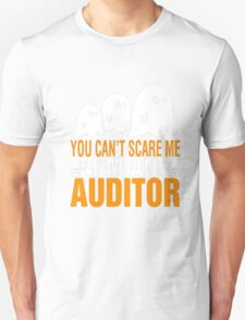 You Cant Scare Me I Am An Auditor Halloween T-shirt Unisex T-Shirt