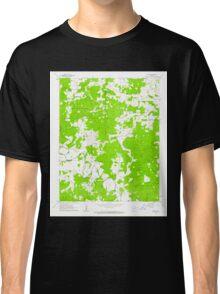USGS TOPO Map Arkansas AR Myron 259204 1962 24000 Classic T-Shirt