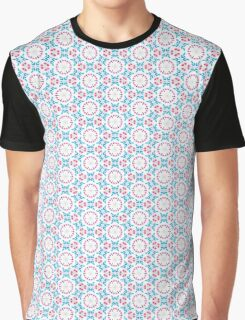 Delicate Flowers Pattern Graphic T-Shirt