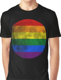 Lesbian and Gay Moon Graphic T-Shirt