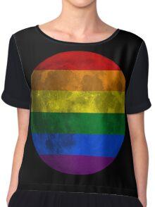 Lesbian and Gay Moon Chiffon Top