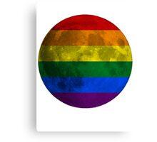 Lesbian and Gay Moon Canvas Print