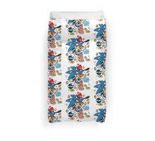 Sonic the Hedgehog - Old School Duvet Cover