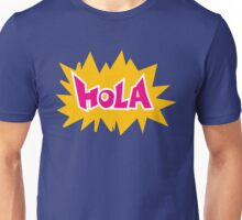 """HOLA"" Cartoon Comic Art Unisex T-Shirt"