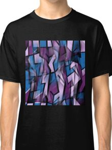 Purple abstract design Classic T-Shirt