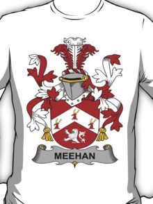 Meehan Coat of Arms (Irish) T-Shirt