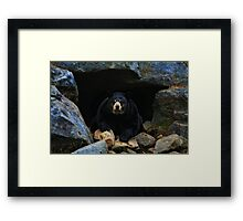 Close Encounter Framed Print