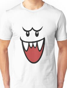 Super Mario Bros Boo Face Unisex T-Shirt