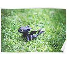 How to Train Your Dragon - Toothless Mini Figurine Poster
