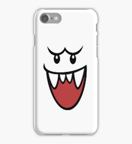 Super Mario Bros Boo Face iPhone Case/Skin