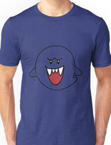 Super Mario Bros Boo Shape Design Unisex T-Shirt