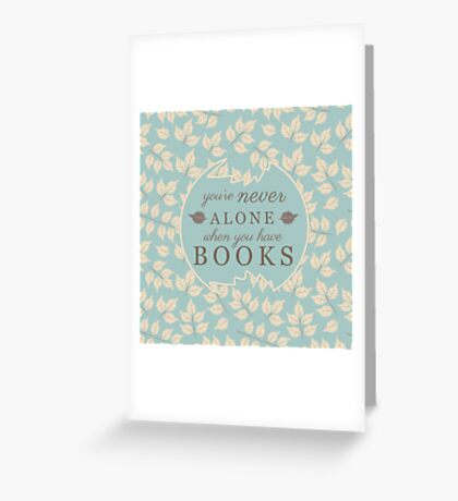 Book Lovers Greeting Card