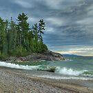 Agawa Bay. Lake Superior Provincial Park. Ontario Canada. by Tracy Wazny