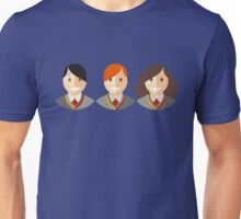 Harry, Ron, Hermione (Art) Unisex T-Shirt