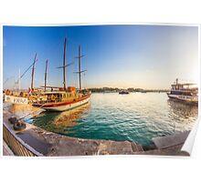 Gzira Bay, Malta Poster