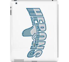 Herons iPad Case/Skin
