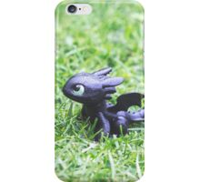 How to Train Your Dragon - Toothless Mini Figurine iPhone Case/Skin