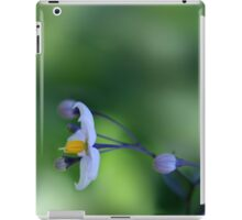It's Good To Hang Out And Enjoy Life... *Solanum Flower* iPad Case/Skin