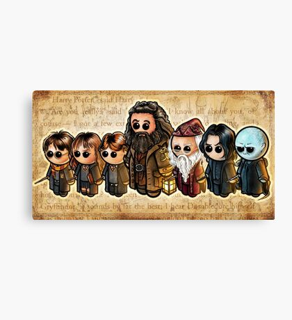 HARRY POOTERBELLIES Canvas Print