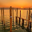 Sunset in Burano island by Hercules Milas