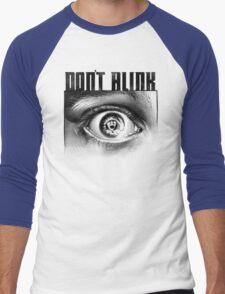 Dont Blink Men's Baseball ¾ T-Shirt