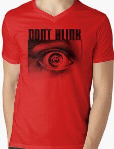 Dont Blink Mens V-Neck T-Shirt