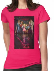stranger things - netflix Womens Fitted T-Shirt