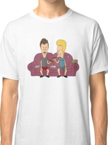Beavis & Butthead sofa chair Classic T-Shirt