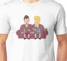 Beavis & Butthead sofa chair Unisex T-Shirt
