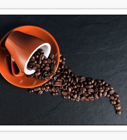Fresh Coffee Beans Sticker