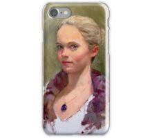 Portrait of a Dancer, Life Study iPhone Case/Skin