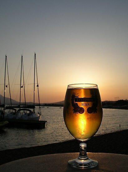 sundown by dinghysailor1
