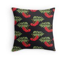 Rowan pattern Throw Pillow