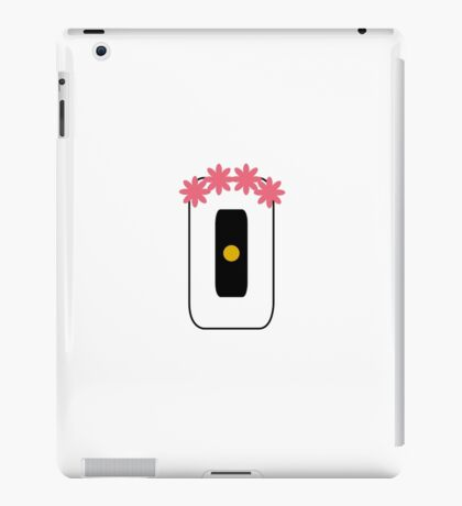GLaDOS with Flower Crown iPad Case/Skin